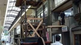 平成24年度・大津祭「山建て」